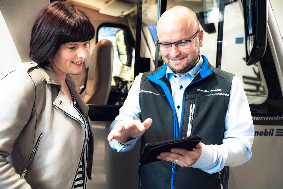Top-Neuheiten und Top-Gebrauchte gibt es bei schaffer-mobile in Dresden - dazu kompetente Fachberatung vom erfahrenen Profi.