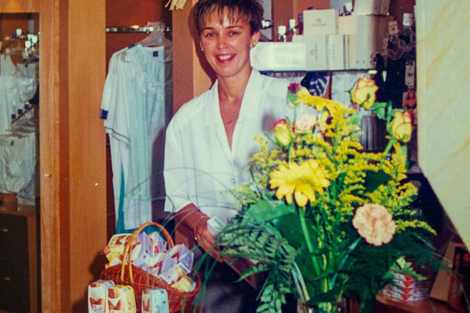 Am 29. Juni vor 25 Jahren eröffnet Susan Gommlich ihr Geschäft. Damals noch in der Passage in Moritzburg.