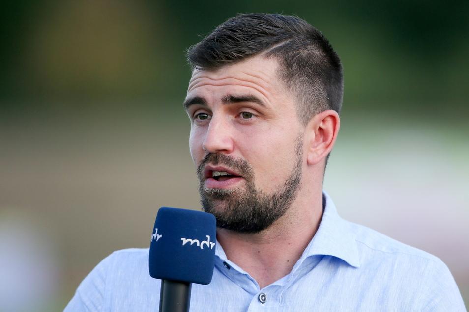 Benjamin Kirsten äußert sich als Fußball-Experte regelmäßig im MDR-Fernsehen. Jetzt ist sein Fachwissen auch bei Dynamo wieder gefragt.