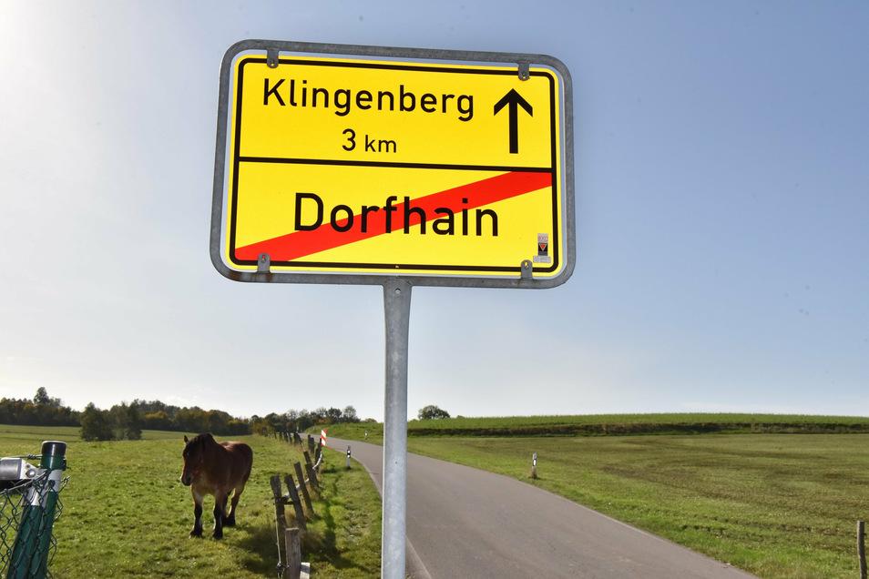 Die Gemeinde Dorfhain will Grundstücke als Baugebiete ausweisen.
