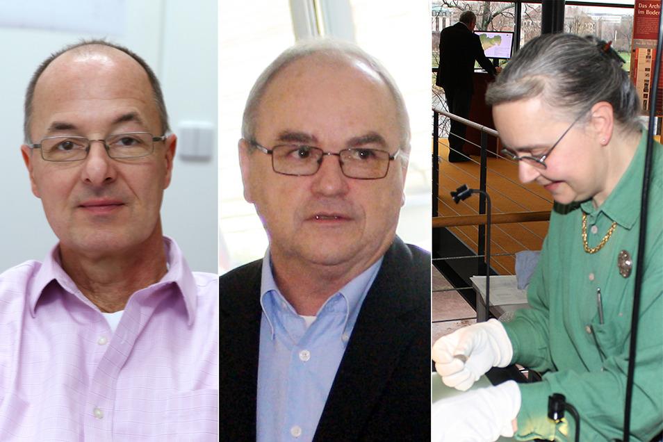 Die drei Autoren des Buches (v.l. Ingo Kraft, Wolfgang Ender und Gabriele Wagner).