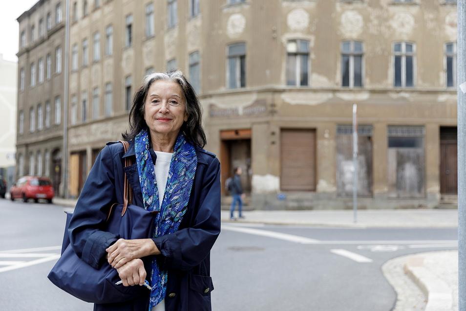 Eigentümerin Angela Thamm von der Firma Thamm & Partner aus Berlin muss für die Jauernicker Straße 31 einen Weg finden.