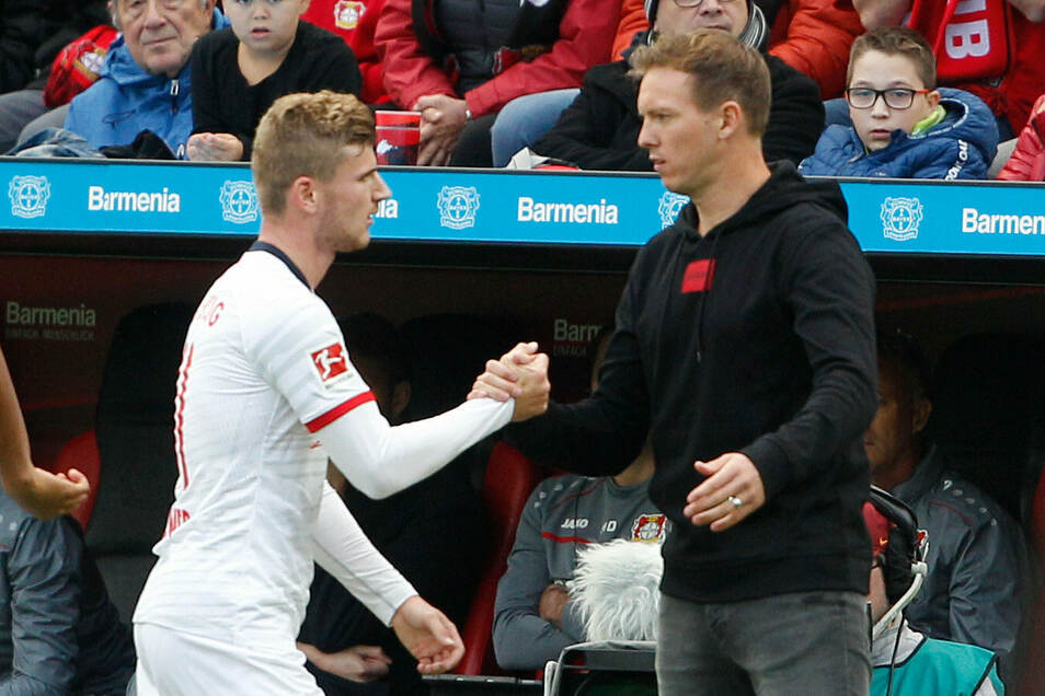 Timo Werner (links) fehlt Julian Nagelsmann diesmal.