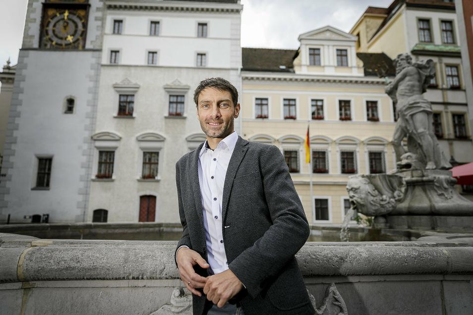 Matthias Schöneich (39) sitzt seit Juni als Nachrücker für die CDU im Görlitzer Stadtrat.