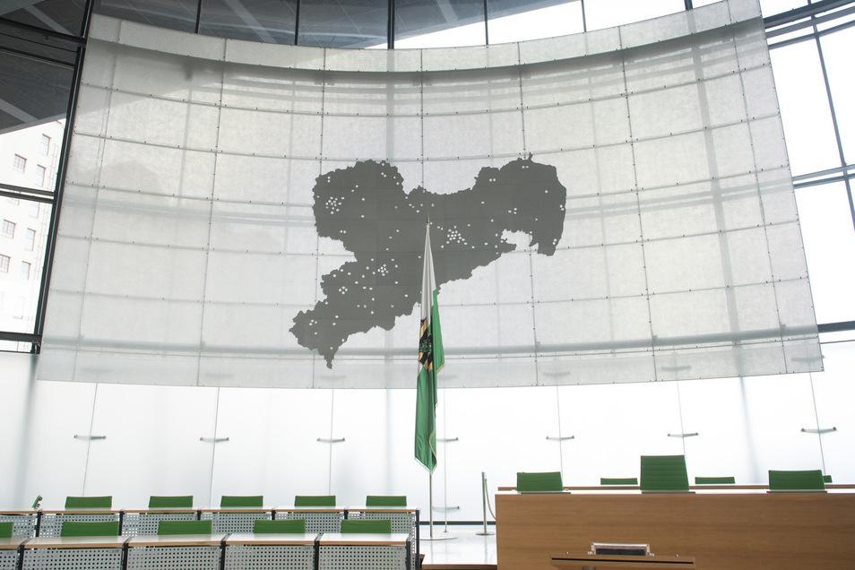 Die Sitze im Sächsischen Landtag werden neu besetzt.