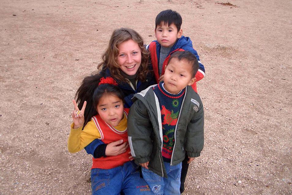 Mongolei 2006: Nicole Herzog arbeitete für die Gesellschaft für internationale Beziehungen an einem Stadtentwicklungsprojekt mit.