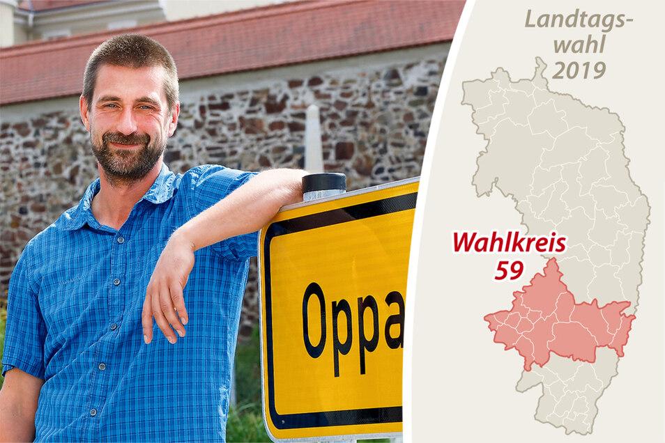 Matthias Reuter bewirbt sich für die CDU für den Sächsischen Landtag.