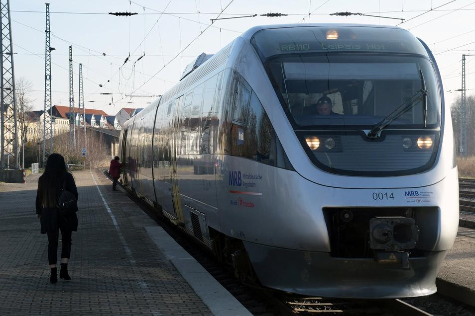 Statt mit der Mitteldeutschen Regiobahn könnten Döbelner in Zukunft mit einer S-Bahn nach Leipzig fahren.