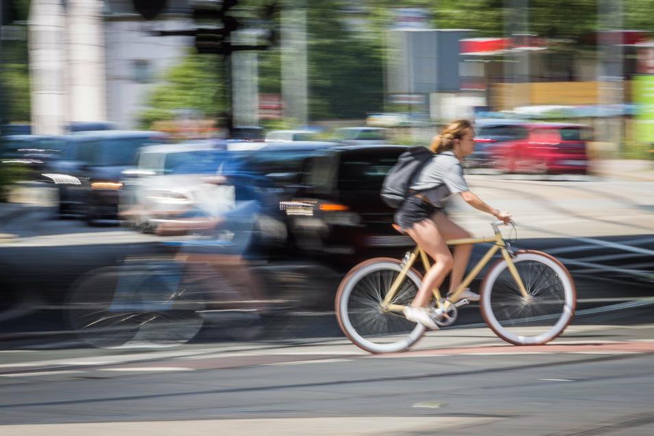 Die Antonstraße gilt als besonders gefährlich. Hier sind im vergangenen Jahr viele Unfälle passiert