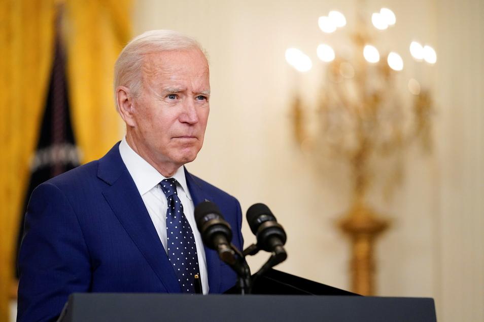 """US-Präsident Joe Biden hatte in Bezug auf Nordkorea von einer """"ernsthaften Bedrohung"""" gesprochen."""