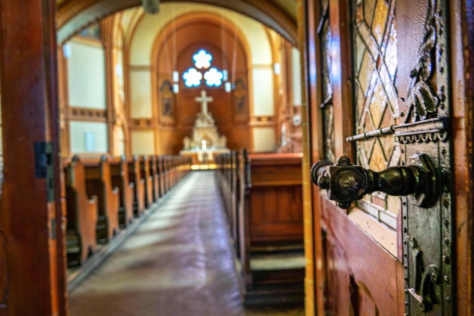 Ein Blick in die Trinitatiskirche - das größte Gotteshaus zwischen Meißen und Torgau.