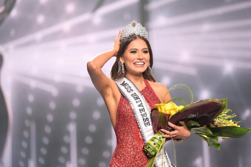Andrea Meza ist Miss Universe Mexico 2021.