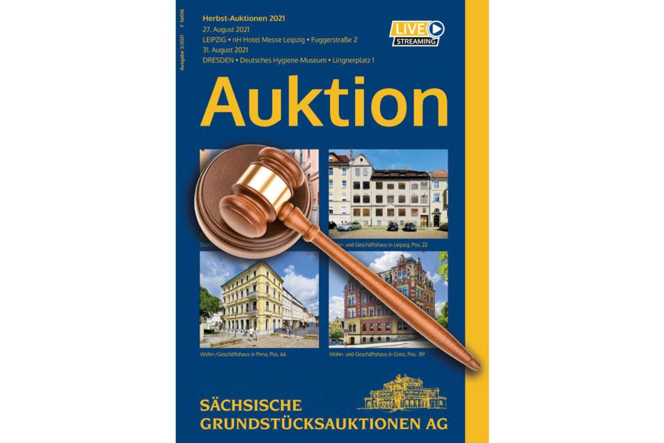Herbst-Auktionen der Sächsischen Grundstücksauktionen AG