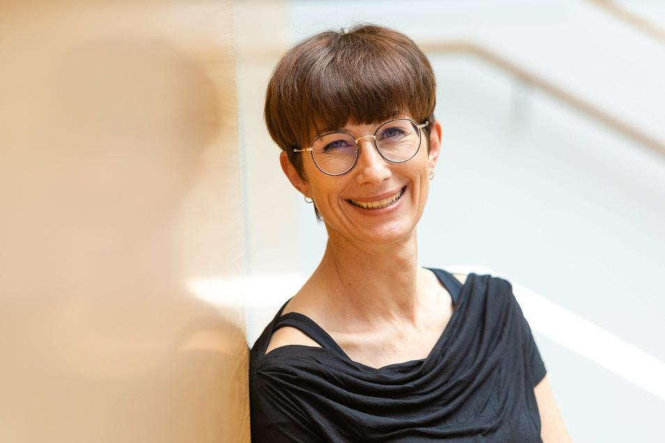 Kerstin Ines Müller ist Direktorin des Digital-Gymnasiums. Ab nächstem Schuljahr wird die einstige Russisch-Lehrerin Klassen in Medienkompetenz unterrichten.