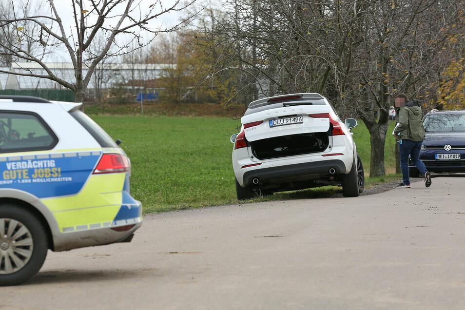 Der flüchtige Autodieb wurde in Wilsdruff geschnappt.
