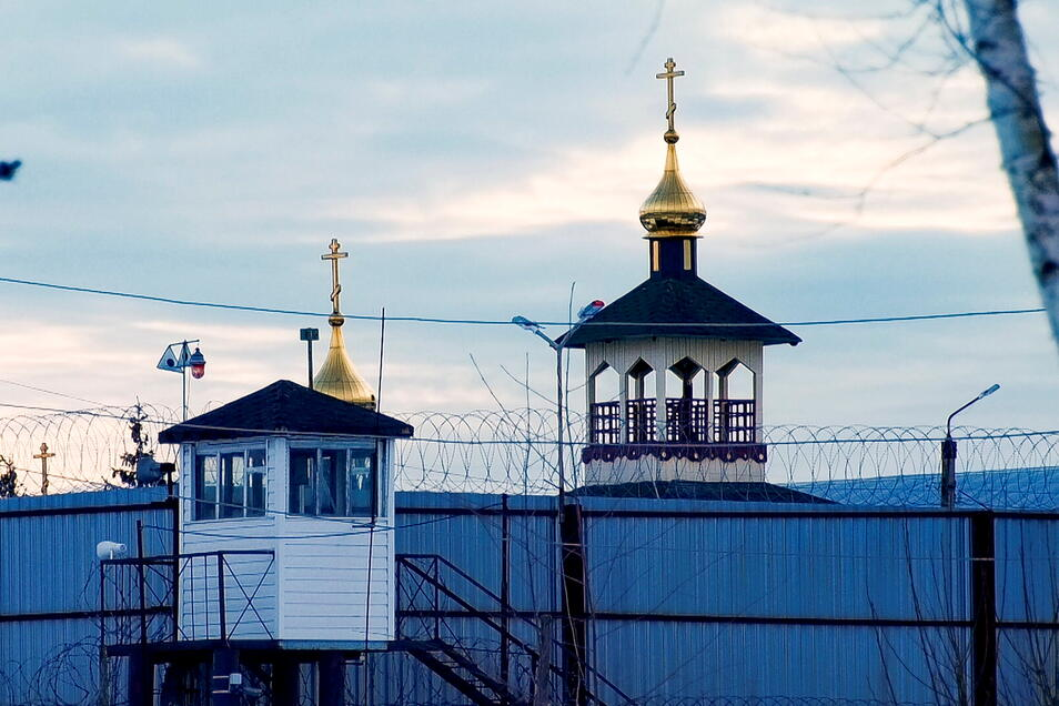 Russland, Pokrow: Außenaufnahme auf die Gefangenenkolonie IK-2, die sich unter den russischen Strafvollzugsanstalten durch ein besonders strenges Regime auszeichnet, 85 Kilometer östlich von Moskau.