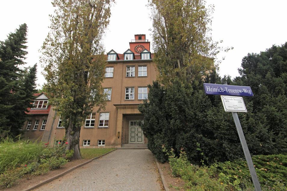 Die 84. Grundschule in Hellerau.