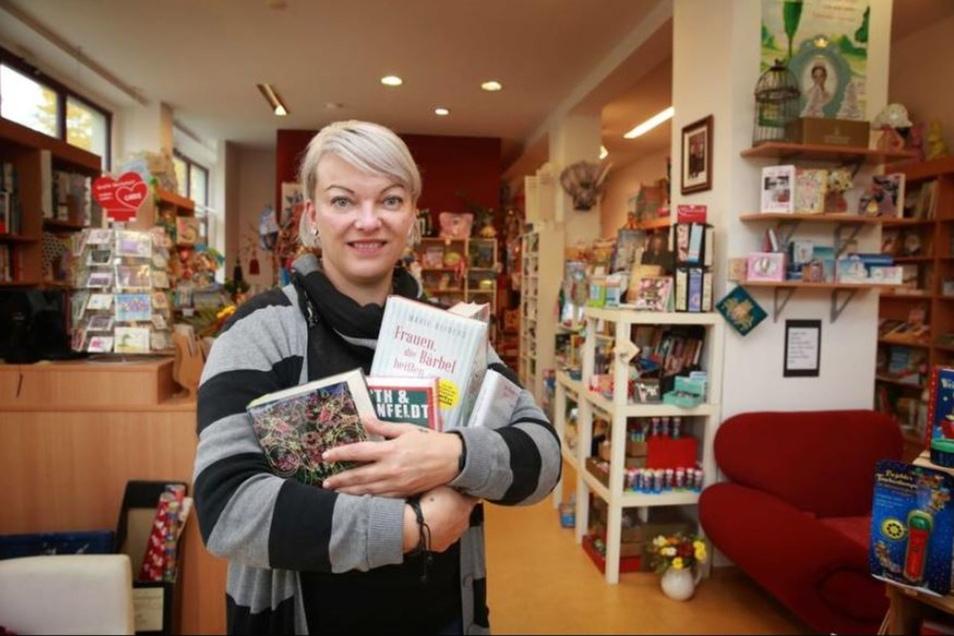 Grit Gebler erfüllte sich gemeinsam mit Sandra Kretzschmar den Wunsch vom eigenen Buchladen.