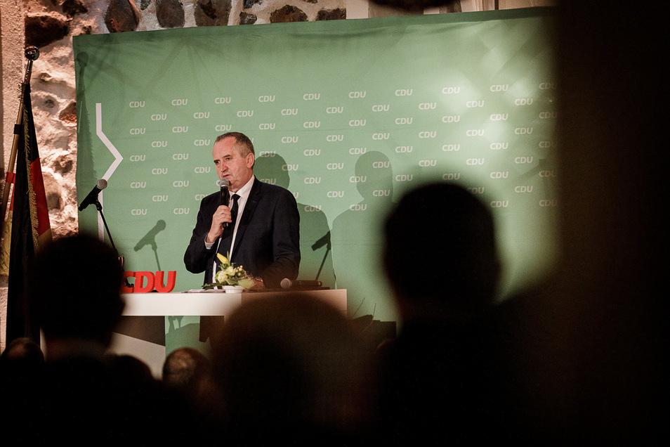 Staatsminister für Regionalentwicklung Thomas Schmidt warnte in Tauchritz davor, den Strukturwandel gleichzusetzen mit dem Thema Schaffung gleicher Lebensbedingungen für die Menschen in ganz Deutschland