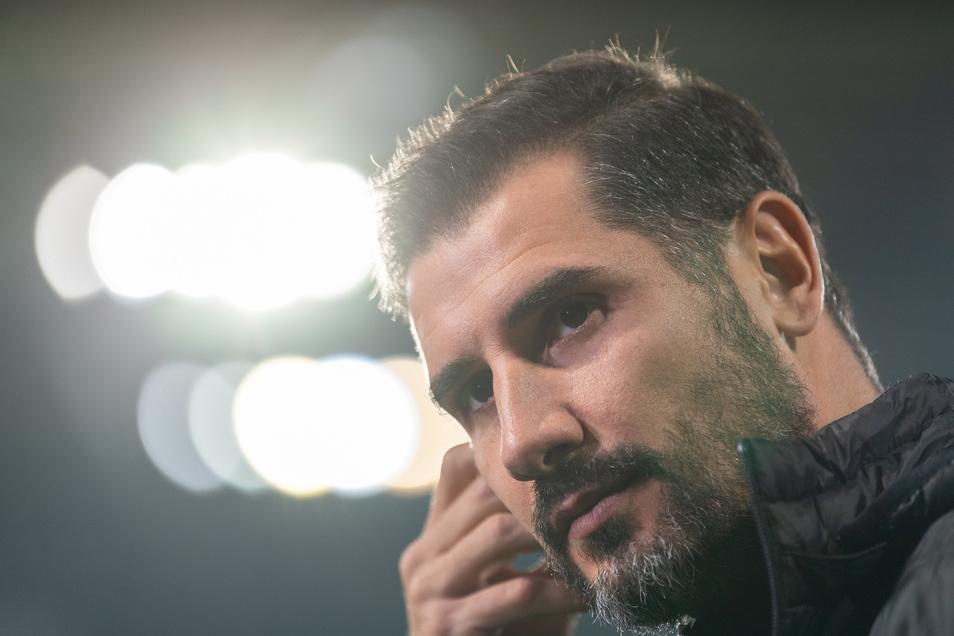 Nun also doch: Cristian Fiel ist nicht mehr Cheftrainer von Dynamo.