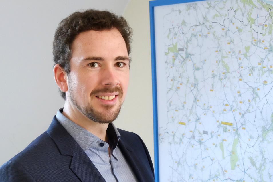 Dr. Thomas Käseberg ist seit dem vergangenen Jahr Geschäftsführer des Zweckverbandes Meißner Hochland.