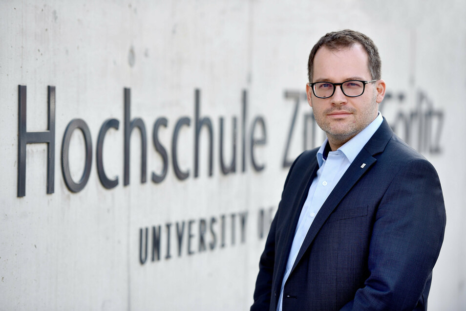 Alexander Kratzsch, Rektor der Hochschule Zittau/Görlitz Honorarfrei für Produkte von sächsische.de und Sächsischer Zeitung
