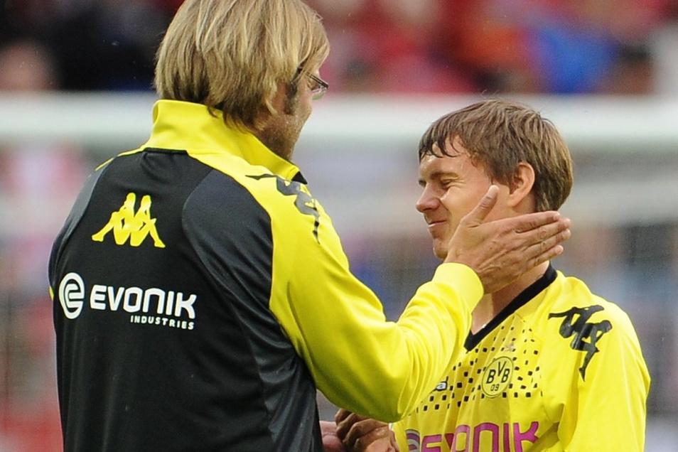 Vor acht Jahren spielte er noch in Dortmund und bekam ein Lob von Jürgen Klopp.