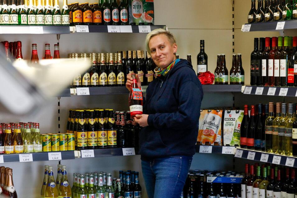 Von der Angestellten zur Chefin: Krisztin Ban hat nun ihren eigenen Getränkehandel.