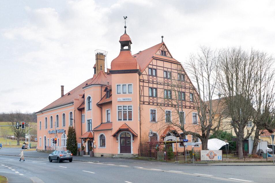 Der Gasthof in Weissig ist wieder offen.