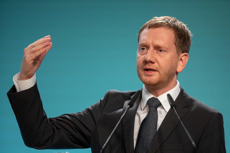 Sachsens Ministerpräsident Michael Kretschmer betont, dass es keine Zusammenarbeit mit der AfD geben könne.