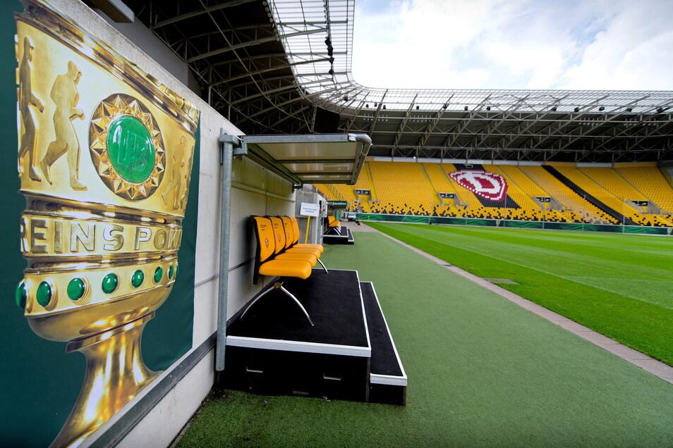 In der ersten Runde des DFB-Pokals trifft Dynamo am Freitagabend unter Flutlicht auf den SC Paderborn. Dann werden die Ränge nicht leer bleiben.