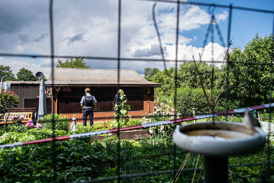 In diesem Gartenhaus in Münster soll es wiederholt zu schwerem Missbrauch von Kindern gekommen sein.