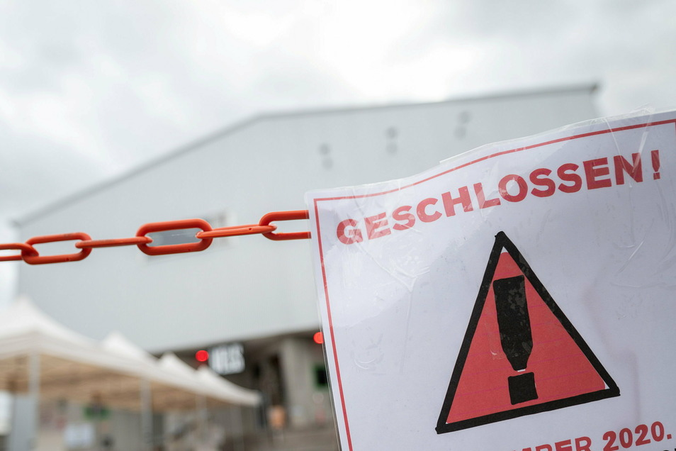 Noch bis mindestens 7. März bleiben Läden, Restaurants und andere Einrichtungen geschlossen.