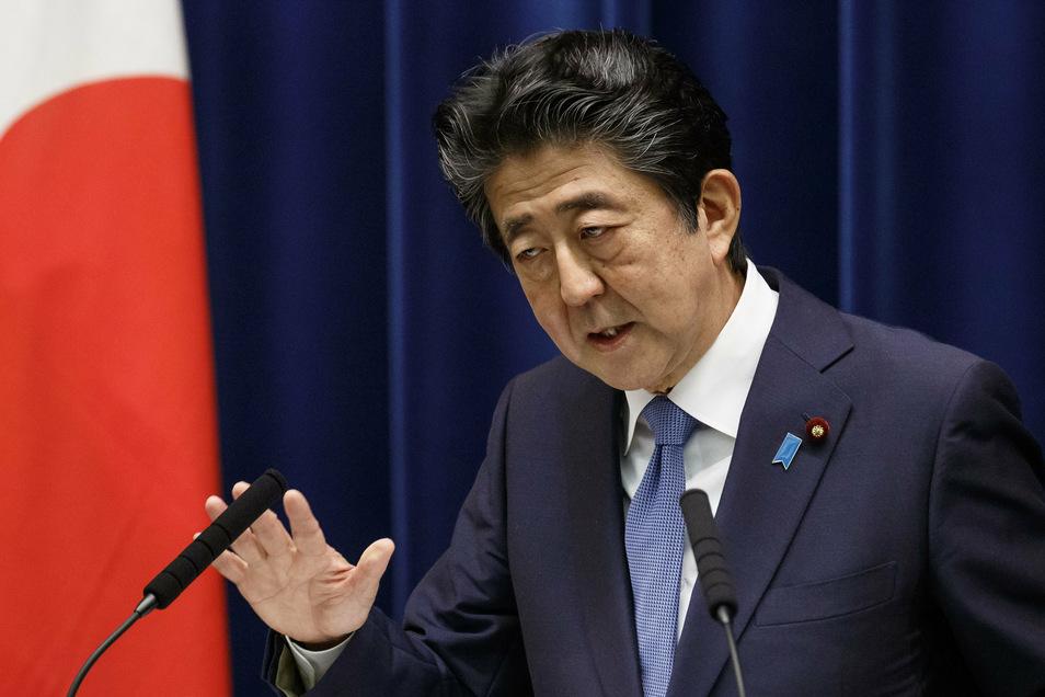 Der japanische Regierungschef Shinzo Abe wird sein Amt aufgeben. Grund dafür sollen gesundheitliche Probleme sein.