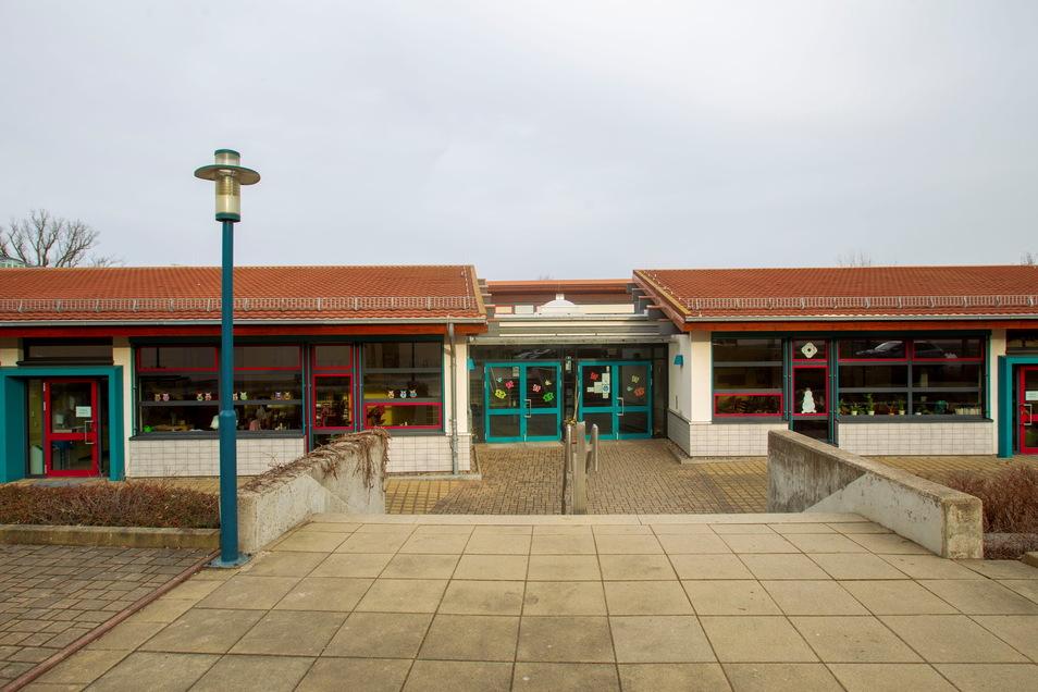In der Grundschule Wilsdruff werden Toiletten und Garderoben erneuert werden. Hier soll auch Computertechnik ausgetauscht werden.