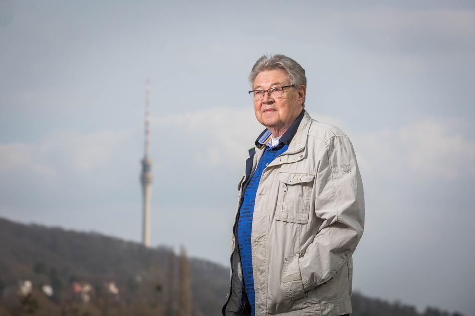 Klaus Martin hat seit über 50 Jahren eine enge Bindung zum Fernsehturm.