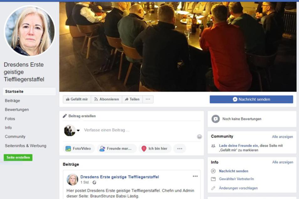 Der Fake-Account zu Barbara Lässig.