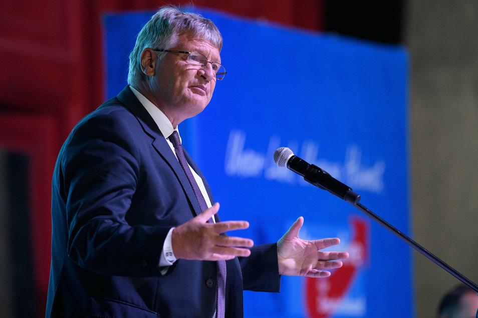 Jörg Meuthen, AfD-Bundesvorsitzender, will nicht in Baden-Württemberg für den Bundestag kandidieren.