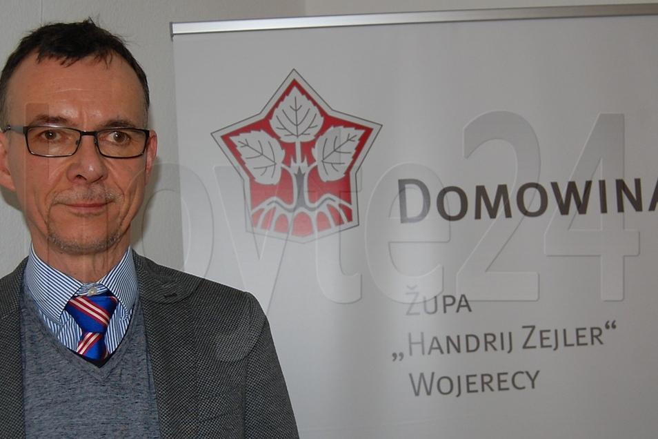 Marcel Braumann ist der neue Vorsitzende des Domowina-Kreisverbandes Hoyerswerda.