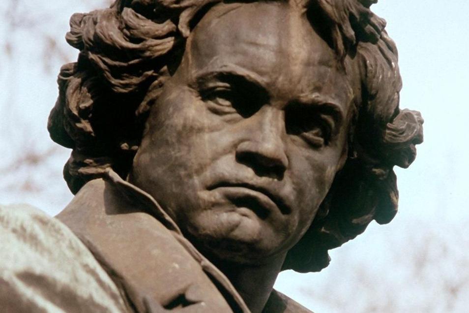 Beethoven als Denkmal in Wien. Der geniale Komponist war schwerhörig, aber nicht komplett taub, sagen neuerdings die Experten.