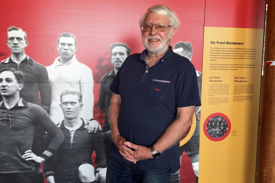Der Sporthistoriker Roland Renson hat über die Spiele von 1920 ein Buch geschrieben, das viele Begebenheiten von damals rekonstruiert.