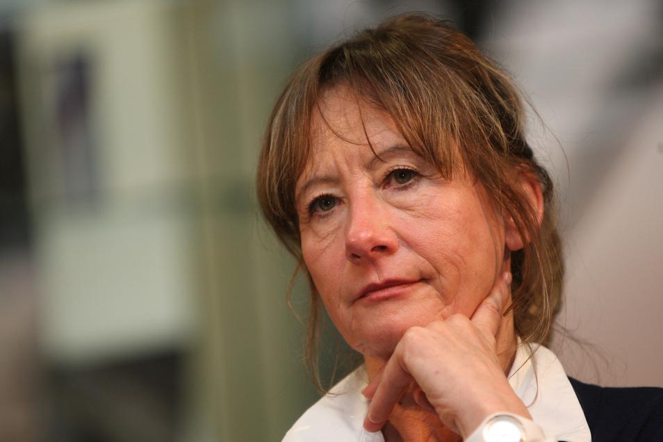 Heidemarie Russig, Leiterin der Geschäftsstelle des regionalen Planungsverbandes Oberes Elbtal/ Osterzgebirge.