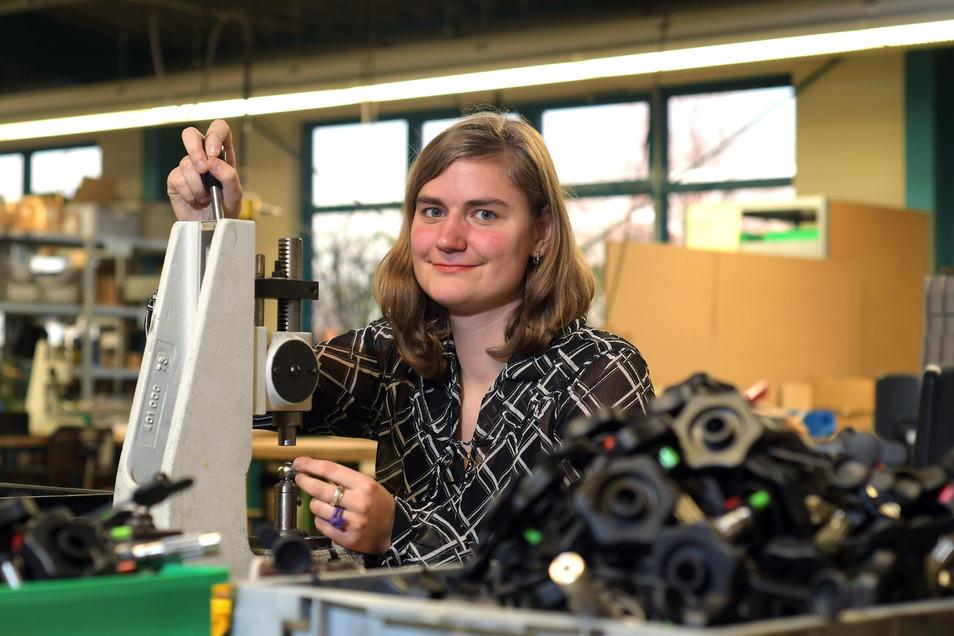 Sabrina Kunze hat den Praxisbaustein im Bereich Montage abgeschlossen.