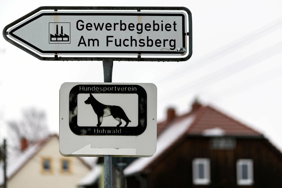 Im Gewerbegebiet Am Fuchsberg ist noch Platz für Gewerbe.