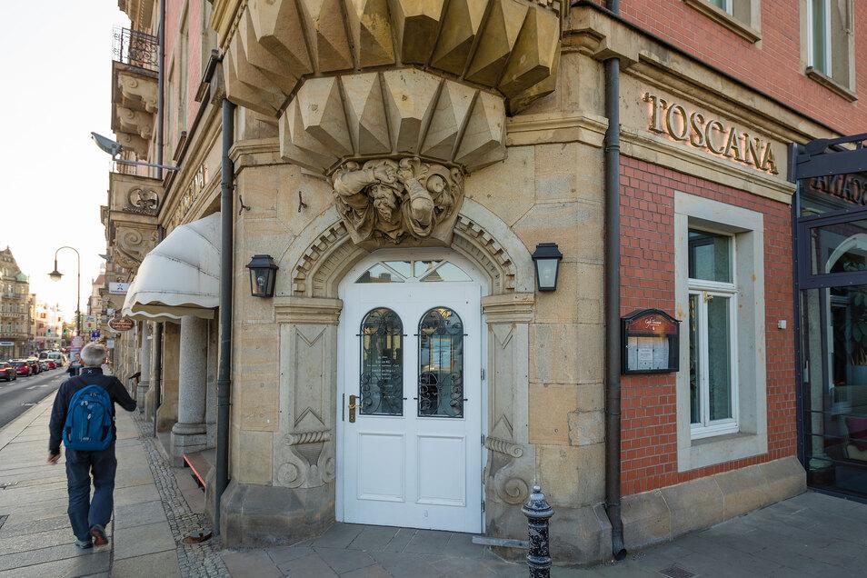 Die Bäckerei Eisold betreibt auch das Café Toscana am Blauen Wunder in Dresden.