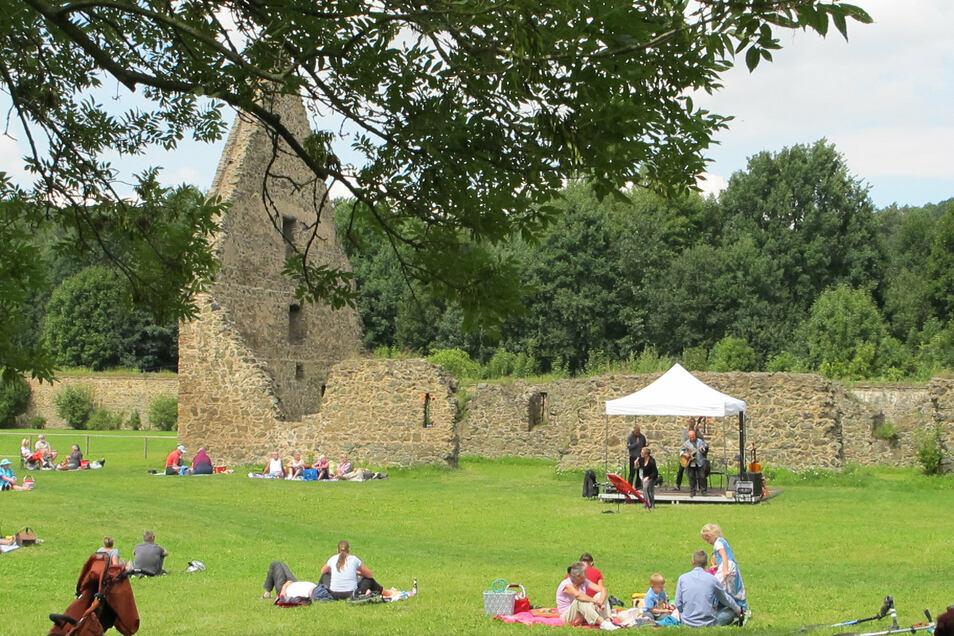 Zum Picknick wird am Sonntag in die Klosteranlage Altzella eingeladen.