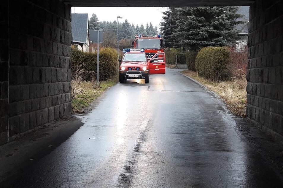 Die Ölspur hat sich dieses Mal von der Spreedorfer über Philippsdorfer Straße und Grenzweg bis nach Philippsdorf gezogen.