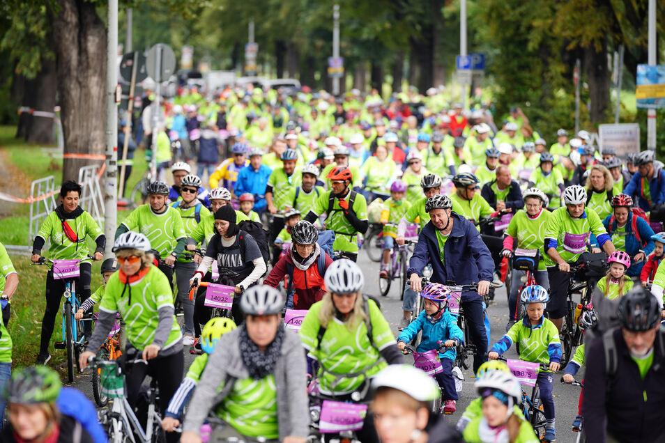 Fast 400 Teilnehmer nahmen an der Kruschel-Tour teil.