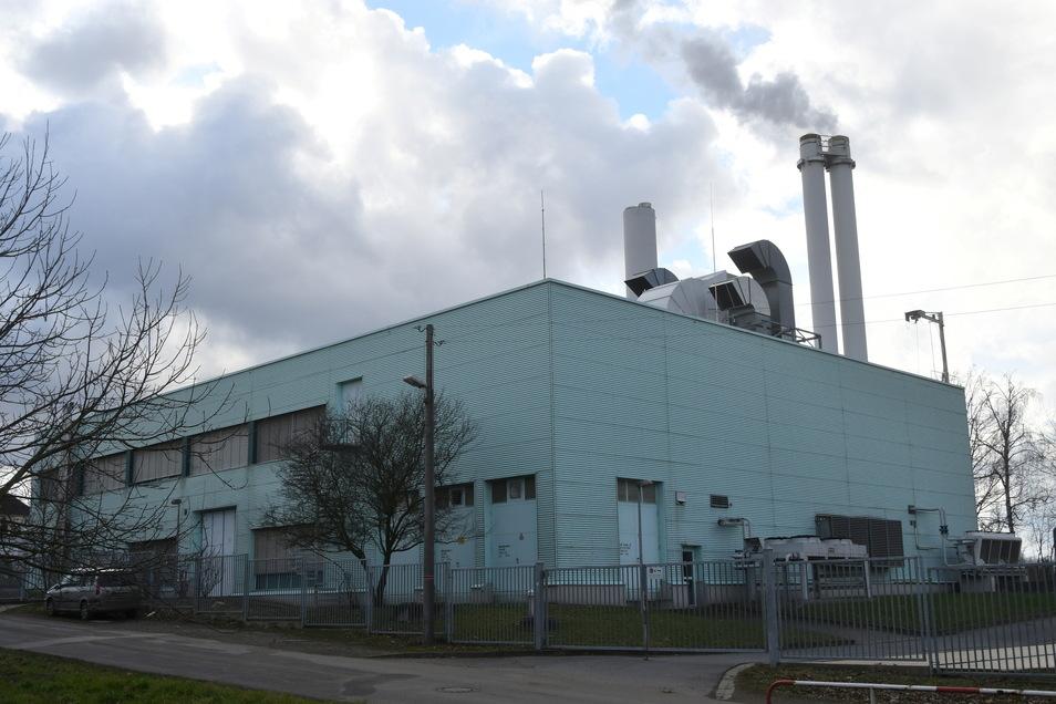 Heizkraftwerk auf dem Pirnaer Sonnenstein: Wichtige Bauteile mussten erneuert werden.