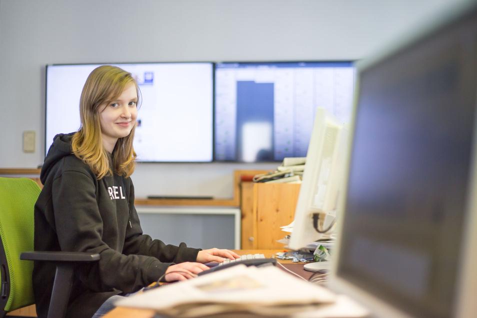 Schülerin Sandra Walter, Autorin dieses Artikels, arbeitet als Praktikantin in der SZ-Redaktion in Görlitz. Welche Berufe ihre Mitschüler interessieren, hat sie hier zusammengetragen.